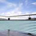 Sunshade net for roof, boat, balcony