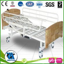 Electric nursing home hospital beds 2-Function with 5 Castors