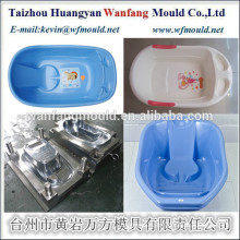 plastic household injection kids bath tub mould maker in china