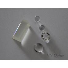 Prisme de collyre en verre optique Jgs1 de silice fondue par UV de Chine