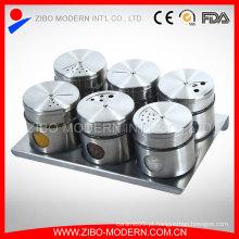 Magnético, aço inoxidável, spice, cremalheira, lar, utensílio, spice, cremalheira, magnético, spice, cremalheira