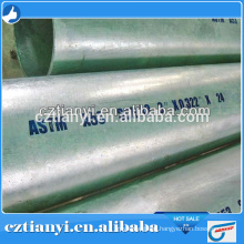 ASTM A106B Hot Galvanized pipe for Fluid Pipeline