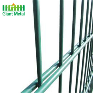 pvc coated welded double wire fence