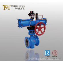 Ball Valve with Double Action Pneumatic Actuator