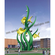 Large outdoor fountain sculpture for sale
