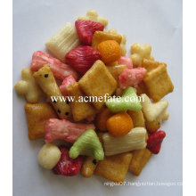 mixed rice cracker