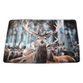 Grey deer Pvc Door Mat