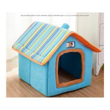 Casa de estimação removível com chaminé para animais de estimação