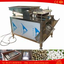 100-150 Kg por hora peladora de huevo de codorniz