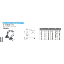 Matériel Hot Sell Us Type Anchor Shackle