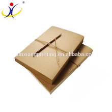 Customized Logo Wholesale Blank Kraft Paper Notebook and Sketchbook By Glue