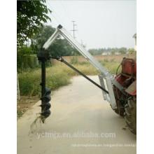 Cavadora de orificios de poste accionada por PTO