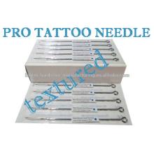 Aiguilles professionnelles de haute qualité de tatouage d'acier inoxydable de 316 tailles assorties pour le liner ou les aiguilles de tatouage de tatouage
