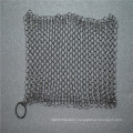6*8inch Stainless steel chainmail scrubber / Cast iron cleaner