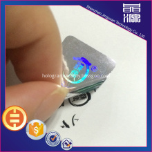 double layer tamper proof hologram stickers