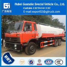 Alto desempenho Dongfeng 6x4 20m3 caminhão de aspersão de água