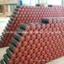 Rouleau de convoyeur de l'industrie du ciment avec peinture