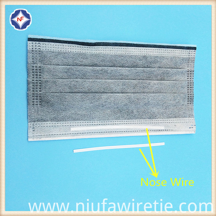 Single Core Nose Wire For Mask