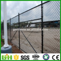 Factory Supply pvc coated used chain wire fencing