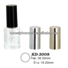 Shiny Gold Nail Polish Cap For Nail Polish Bottle Package