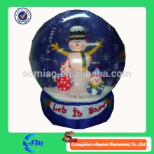 2014 christmas decoration inflatable christmas snow globe inflatable decoration