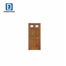 Фанда классический две Лайт 4 панели дизайн ремесло дуб стекловолокна двери
