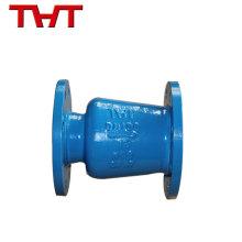 El reborde promocional de la mejor calidad termina la válvula de retención silenciosa del tipo de la oblea para la bomba
