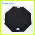 La publicité personnalisée parapluie pliable (rhum-010)