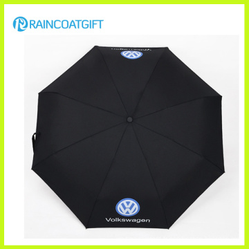 Parapluie de pliage personnalisé publicitaire (RUM-010)