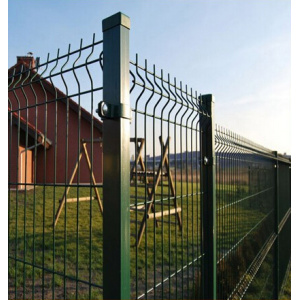 Garden Galvanized Welded Fence Panels With Folds