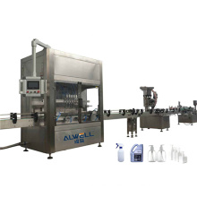Shanghai Manufacture Automatic Servo Type Piston Bottle Shampoo Shower Hand Sanitizer Liquid Filling Capping Machine