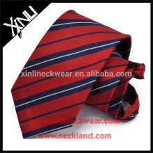Perfect Knot 100% hecho a mano poliéster hombres cremallera corbata