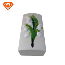 ceramic humidifier decorated in colorful flower