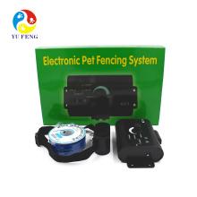 Dispositivo del control del tren del perro casero de la venta caliente Sistema del cercado eléctrico de la cerca del cuello del choque subterráneo