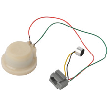 White Plastic Telephone Parts with Wire