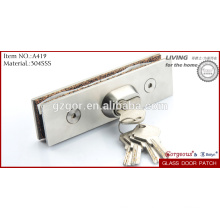 glass door patch fitting in china, glass door lock