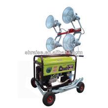 Tour d'éclairage à essence refroidie par air avec 4 lampes