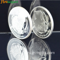 Metal Silver Proof Coin for Souvenir