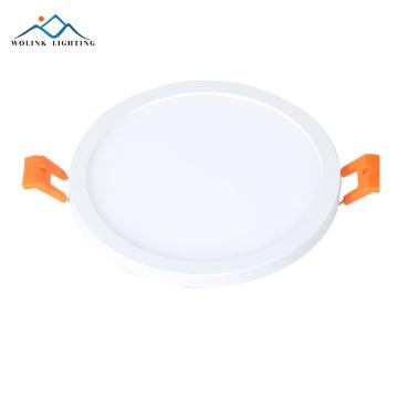 High brightness slim 12W 18W small round square led panel light price