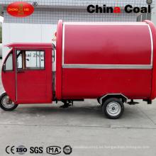Camión de comida rápida móvil eléctrica