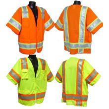 Wholesale Custom Design Safety Jacket