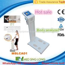 MSLCA01-I Persönliche Heimnutzung Körper Zusammensetzung Analysator Maschine / Körperfett-Analysator