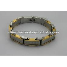 Vente en gros alibaba.2014 bracelet en acier inoxydable à la mode, haute qualité, bon marché, bracelet homme