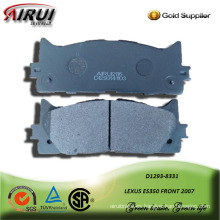 SEMI-METALLIC CAR BRAKE PAD FPR LEXUS ES350 FRONT 2007