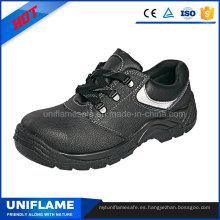 En20345 Zapatos de seguridad de cuero para hombres S3 Ufa016