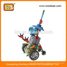 LOZ kit de robot eléctrico, robot educativo, kit de robot de rompecabezas para niños