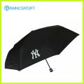 Kundenspezifischer Schirm Printng Werbungs-luxuriöser faltender Regen-Regenschirm
