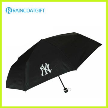 Parapluie de pluie pliant de luxe promotionnel de publicité d'écran de coutume