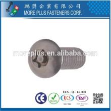 Сделано в Тайване нержавеющей стали 306 M3X6mm TORX Привод метрических машины винт
