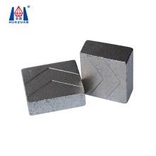 Huazuan cutter tool V step shape design diamond granite cutting segment